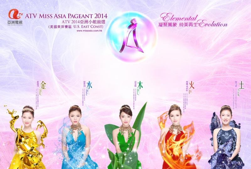 Miss Asia 2014 Banner